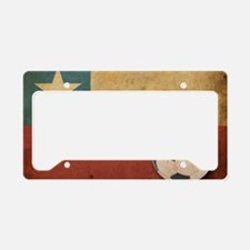 vintageChile5 License Plate Holder