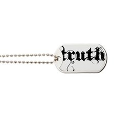 truth_blk Dog Tags