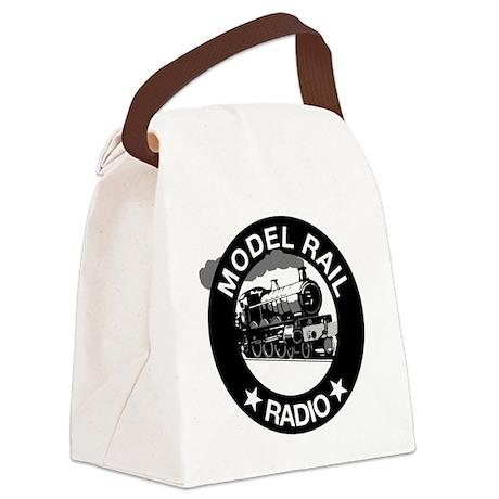 modelrailradio_logo Canvas Lunch Bag