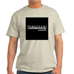 Lampwork - My Anti-Drug Ash Grey T-Shirt