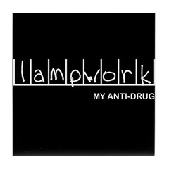 Lampwork - My Anti-Drug Tile Coaster