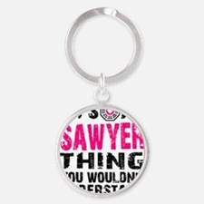 Sawyer Thing S1 Round Keychain