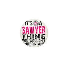 Sawyer Thing Mini Button