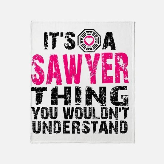 Sawyer Thing Throw Blanket