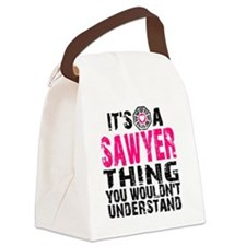Sawyer Thing Canvas Lunch Bag