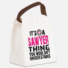 Sawyer Thing Canvas Lunch Bag