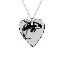 Orca-Dark2 Necklace