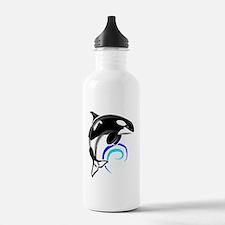 Orca-Darkblue Water Bottle