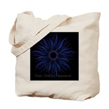 2-TendrilsBlueBLK Tote Bag