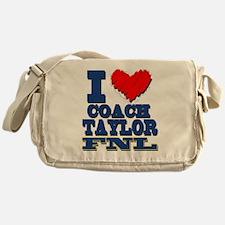 I Love Coach Taylor Messenger Bag