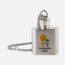 GeographyChick Flask Necklace