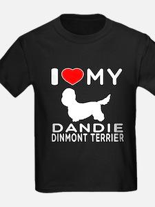 I Love My Dandie Dinmont Terrier T