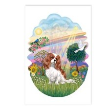 OvOrn-CloudAngel-Cavalier Postcards (Package of 8)