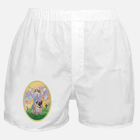 OvOrn--Blessings-Pug #2 Boxer Shorts