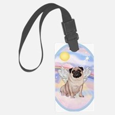 OvOrn-Clouds-Pug 17 Luggage Tag