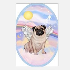 OvOrn-Clouds-Pug 17 Postcards (Package of 8)