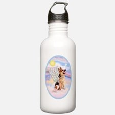 OvOrn-Clouds-German Sh Water Bottle