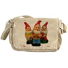 2-Gnome-Important Friends Messenger Bag