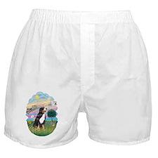 CO-CloudStar-Bernese Mountain Dog Boxer Shorts