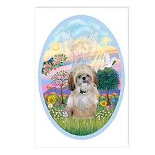 OvOrn-Cloud Angel - Shih  Postcards (Package of 8)