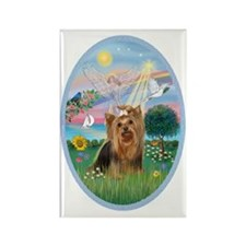 AngelStar-Yorkshire Terrier #7 Rectangle Magnet