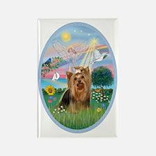 AngelStar-Yorkshire Terrier #7 Rectangle Magnet