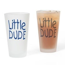 Little dude Drinking Glass