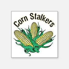 """CornStalkerTee2 Square Sticker 3"""" x 3"""""""