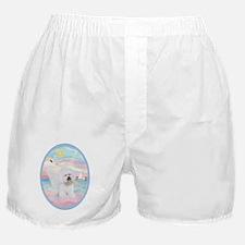 Heavenly Sea-Bichon Frise #1 Boxer Shorts