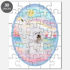 Heavenly Sea-Bichon Frise #1 Puzzle