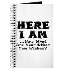 Here I Am Journal