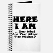 Here I Am Journal