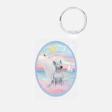 Heavenly Sea-Bull Terrier  Keychains