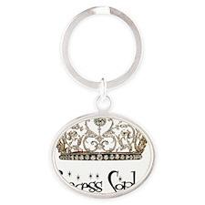 Princess_sophia Oval Keychain