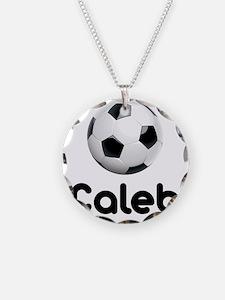 Soccer Caleb Necklace