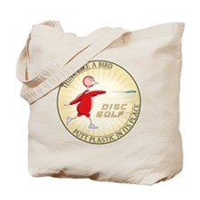 may_think_like_a_bird_red Tote Bag