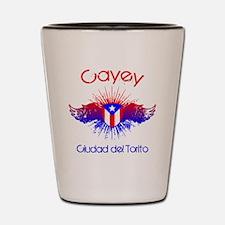 Cayey W Shot Glass