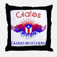 Ciales W Throw Pillow