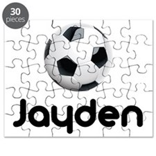 Soccer Jayden Puzzle