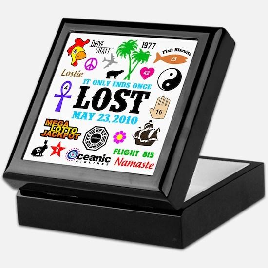 Lost V2 Keepsake Box