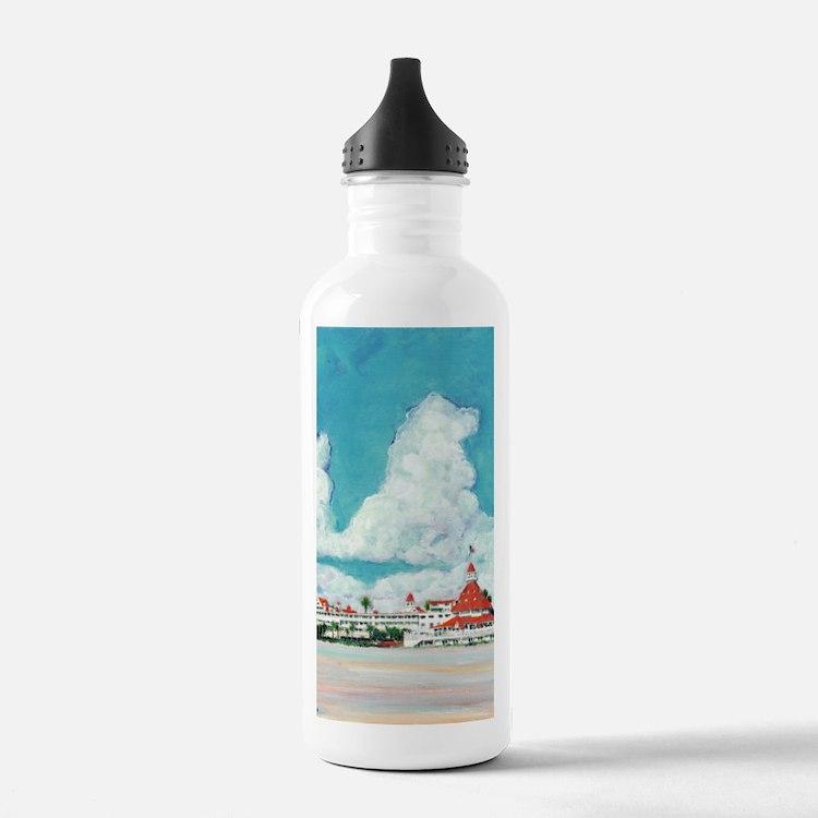 coronadobeach10x14 Water Bottle