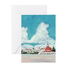 coronadobeach10x14 Greeting Card