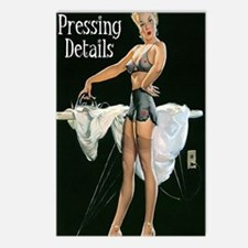 pressing details journal Postcards (Package of 8)
