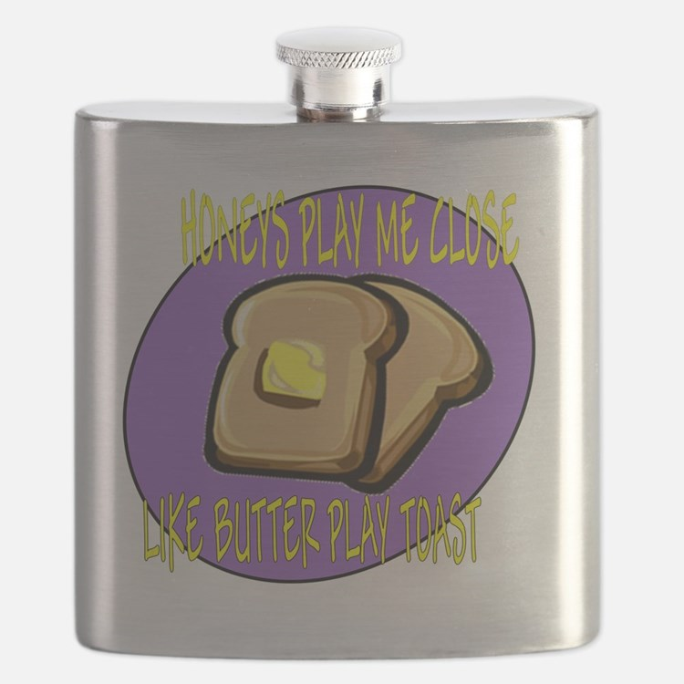 butter play toast Flask