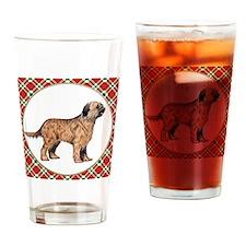 RDORN-briard-christmas Drinking Glass
