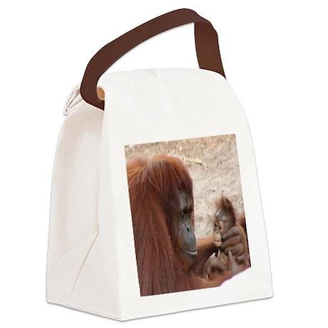 orang mombaby-cstr Canvas Lunch Bag