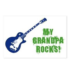 rockon_grandpa Postcards (Package of 8)