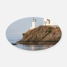 turnpoint-MP Oval Car Magnet