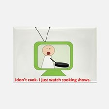 CookingShows copy Rectangle Magnet