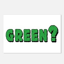 Green? Postcards (Package of 8)